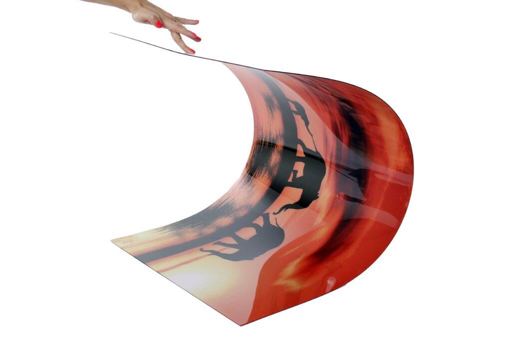 Flexibilis műanyag konyhai hátfal