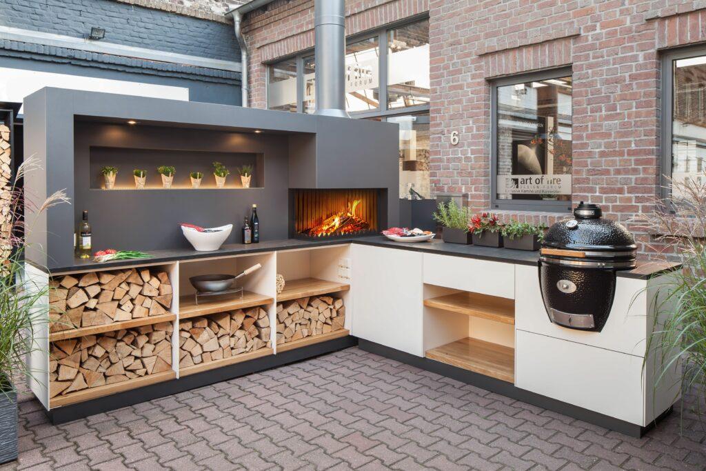 munkapult kerti konyhába