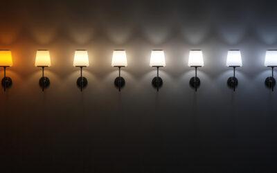 Színhőmérséklet skála: meleg fehér fény vagy hideg fehér fény legyen az otthonodban?