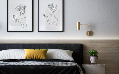 Ötletek fali dekorációra: a képektől a falmatricáig
