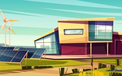 Megújuló energiaforrások használata építkezéskor